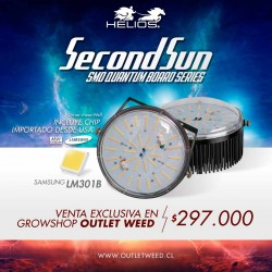 Second Sun | Kit 200W | 2 lentes SMD Quantum Board | Helios Corporate