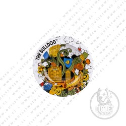 Cenicero | Metálico | Blanco | The Bulldog Amsterdam
