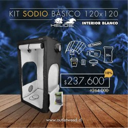 Kit Indoor Helios | Sodio Básico | Interior Blanco | 120 x 120