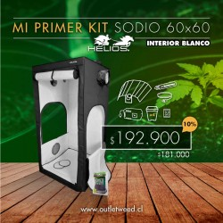 Kit Indoor Helios | Mi Primer Kit Sodio | Interior Blanco | 60 x 60