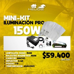 Mini-Kit | Iluminación Pro | Magnético | 150W