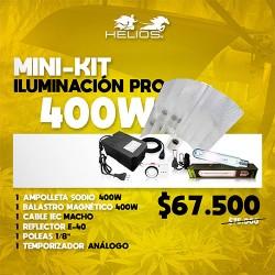 Mini-Kit | Iluminación Pro | Magnético | 400W