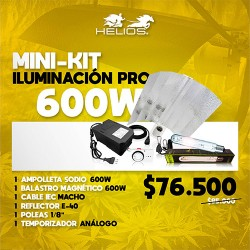 Mini-Kit | Iluminación Pro | Magnético | 600W
