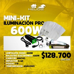 Mini-Kit | Iluminación Pro | Electrónico | 600W